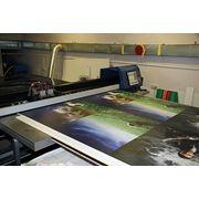Печать широкоформатная на пластике фото