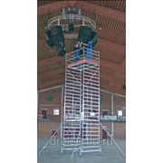 Лестницы-трапы Krause Переход из алюминия угол наклона 45° количество ступеней 9,ширина ступеней 600 мм 826084 фото