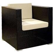 Кресло плетеное с 2-мя подушками Garda-1211 фото