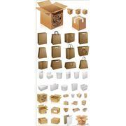 Упаковка различных изделий и материалов фото