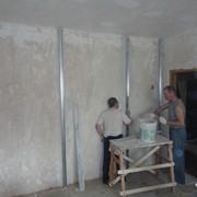Выравнивание стен под правило фото