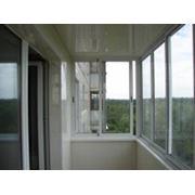 Рамы балконные алюминиевые фото