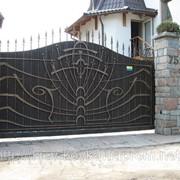 Ворота, ограждения фото