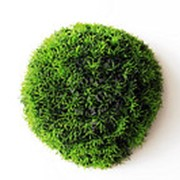 Шар из травы искусственный D-25 см (без кашпо) фото