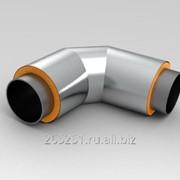 Отвод ППУ для стальных трубопроводов в теплоизоляции