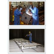 металлоконструкции двускатных ангаров и производственных зданий фото