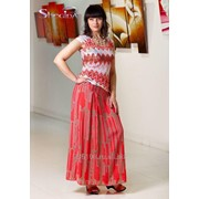 Блуза 1537 Персик цвет фото