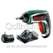 Аккумуляторная отвертка Bosch IXO IV Upgrade medium, 1.5 А*ч, Li-Ion, 215 об/мин (0603981021) фото