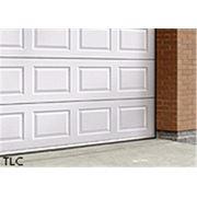 Панельные гаражные ворота – TLC фото