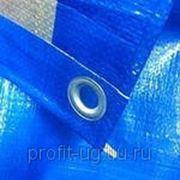 Полога Тарпаулин 3м х 4м, 180 г/м2, синий фото