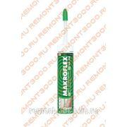 МАКРОФЛЕКС NX108 герметик Нейтральный белый (0,29л) / MAKROFLEX герметик Нейтральный силиконовый NX108 белый (0,29л) фото