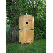 Кабины туалетные деревянные фото