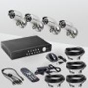 Комплект видеонаблюдения «установи сам» Eif systems DVK-3004KIT PRO фото