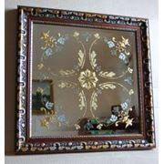 Декорированные зеркала фото