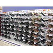 Стеллажи для обувной промышленности фото