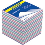 Бумага для заметок цветная 3*3 100 фото