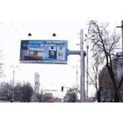 Рекламный щит наружный фото