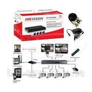 Комплект системы видеонаблюдения DS-J142I