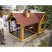 Будка вальер для собаки. Изготовление мини - домиков фото