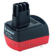 "Аккумуляторные батареи Metabo Аккумулятор 12 В, 1,4 Aч, NiCd, ""AIR COOLED"" 625473000 фото"