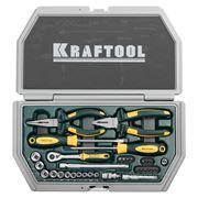 Kraftool 27972-H33 (INDUSTRY) Набор слесарно-монтажного инструмента фото