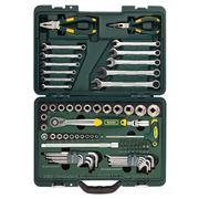 Kraftool 27977-H84 (INDUSTRY) Набор слесарно-монтажного инструмента фото