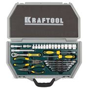 Kraftool 27975-H28 (INDUSTRY) Набор слесарно-монтажного инструмента фото