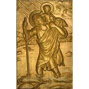 Христофор несущий Христа фото