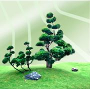 Услуги по посадке деревьев кустарников и крупномеров