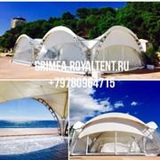 Аренда шатров, тентов, палаток Крым фото
