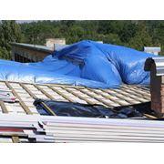 Замена покрытия крыши фото