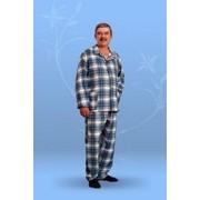 Пижамы мужские фланелевые фото