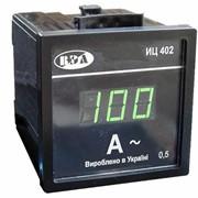 Измеритель-амперметр щитовой ИЦ402 фото