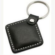 Бесконтактный RFID брелок Em-Marine кожаный фото