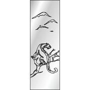 Обработка пескоструйная на 1 стекло артикул 5-13