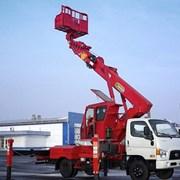 Аренда автовышки 28 метров на базе Hyundai фото