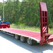 Аренда трала Низкорамная платформа (40 тонн) фото