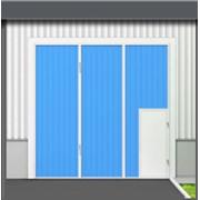 Ворота промышленные складчатые фото