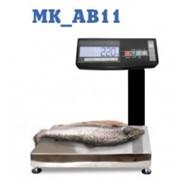 Весы влагозащищенные с автономным питанием МАССА-К МК-AВ11 фото