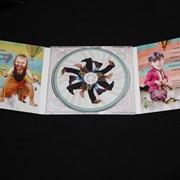 CD диск в упаковке трехлепестковый DiGi Pack фото
