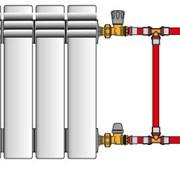 Замена радиаторов отопления. Доставка. фото