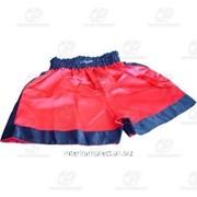 Трусы боксерские красные разм. XL