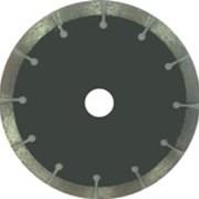 Круг алмазный (сегмент) 22,23х2,6х8 диам. 230мм фото