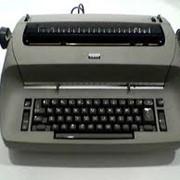 Машины пишущие электромеханические фото
