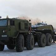 Тягач МАЗ-537 и 60-ти тонный полуприцеп фото