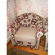 Перетяжка кресла фото