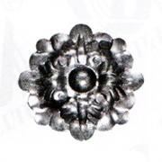 Изделие из металла цветок HY-187 d 85, артикул 13600 фото