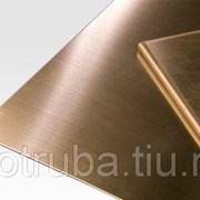 Лист бронзовый 40 мм БрХ1 фото