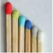 Спички с цветной головкой фото