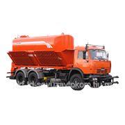 Комбинированная дорожная машина КО-829Б на шасси КамАЗ-65115-1041-62 фото